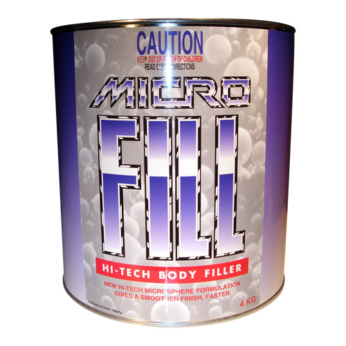 Microfill Hi-Tech Body Filler AUMF4