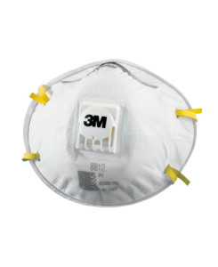 OC3M8812 8812 Dust & Mist Mask with Cooling Valve