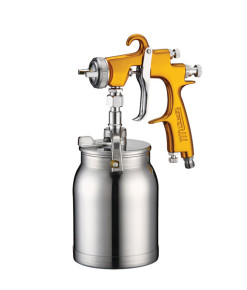 SGSLV2000F-12S STAR EVO-T Suction Spray Gun & 1L Pot