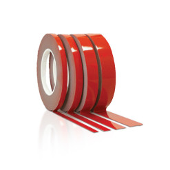 10m Double Sided Hard-Back Mounting Tape Radex