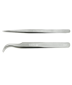 Dust Removal Stainless Steel Tweezers YT-69032