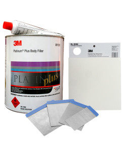 3.5L Platinum Plus Body Filler Kit (Includes 100g Hardener)