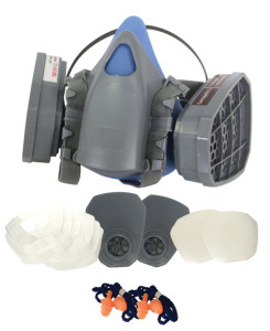 Silicone Charcoal ~ PdProtect Mask Starter Kit