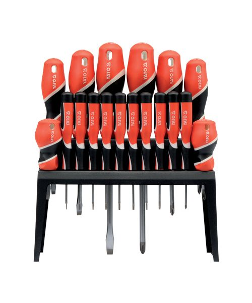 18pc SCREWDRIVER Professional Set Soft Grip