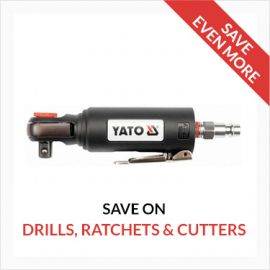 Drills, Ratchets & Cutters