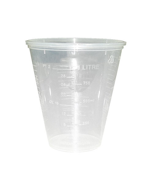 1L Paintdirect Graduated Cups 1