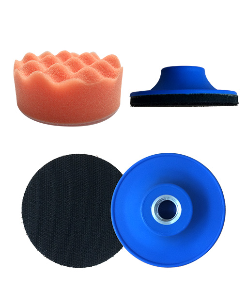 80mm Mini Waffle Polishing Pad Radex 3