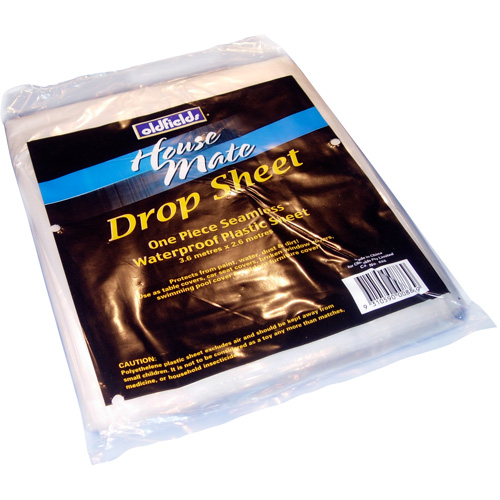 Lightweight, Plastic Protective Drop Sheets 2