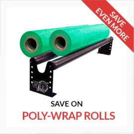 Masking Film, Poly Wrap, Paper Rolls