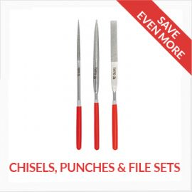 Chisels, Punches, File Sets
